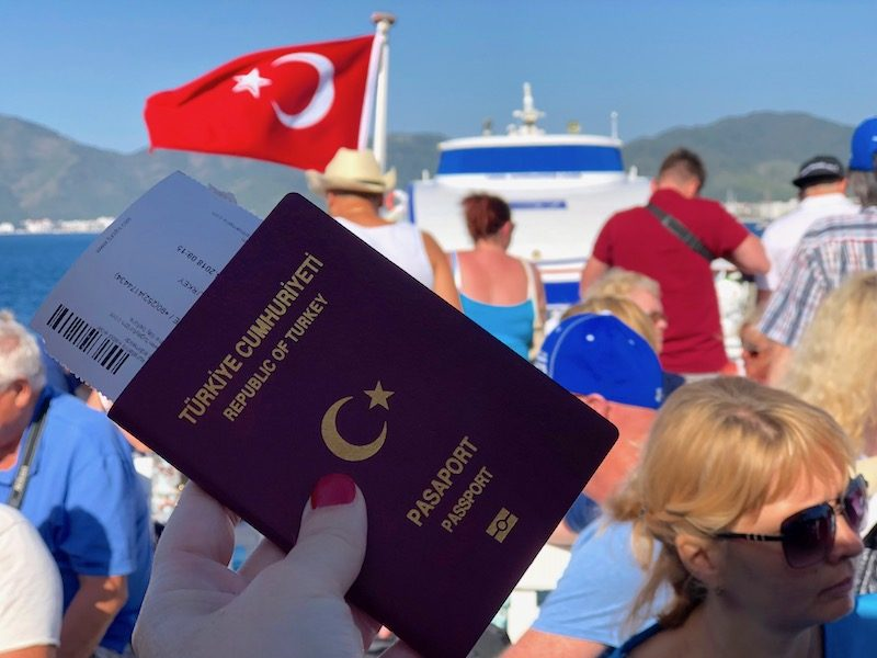 Countries that can travel without a visa with a Turkish passport