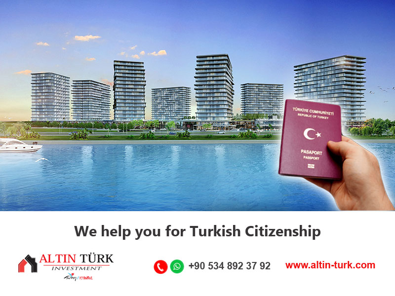 Get home and turkish citizenship for 250.000 usd