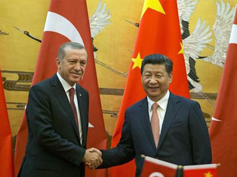 The investment moves from China to Turkey