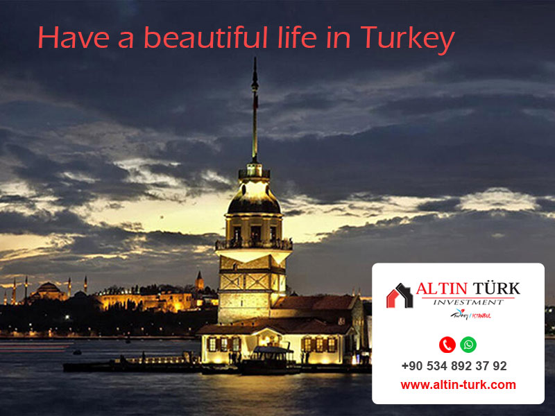Turkey, the 7 best countries to live and work!