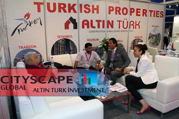 Altın Turk back form Dubai Cityscape Global 2014