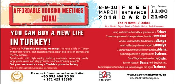 ALTIN TURK INVESTMENT will be in Dubai