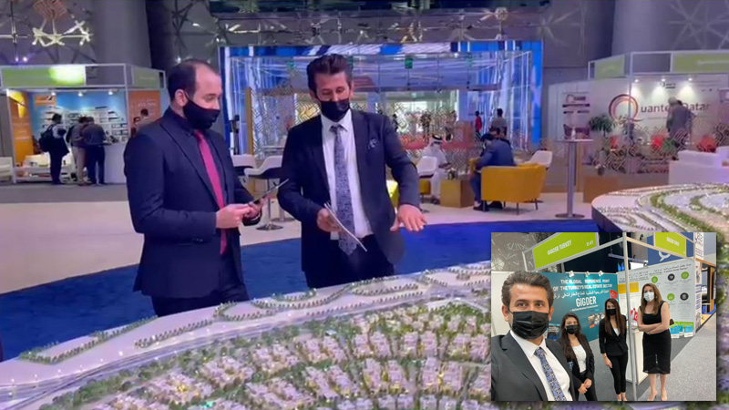 Altın Türk Real Estate and Investment Chairman Mr. İsmail ALTIN in Cityscape Fair in Doha 2021