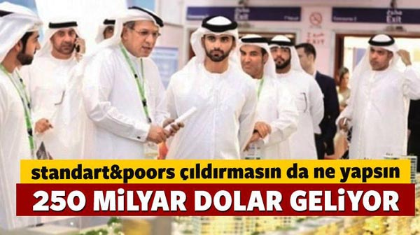 250 billion dollars of investment is coming to Turkey!