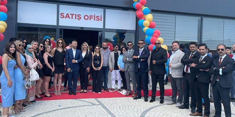 Altıntürk Investment Family came together at the promotional cocktail of the 212 Sea Palm project