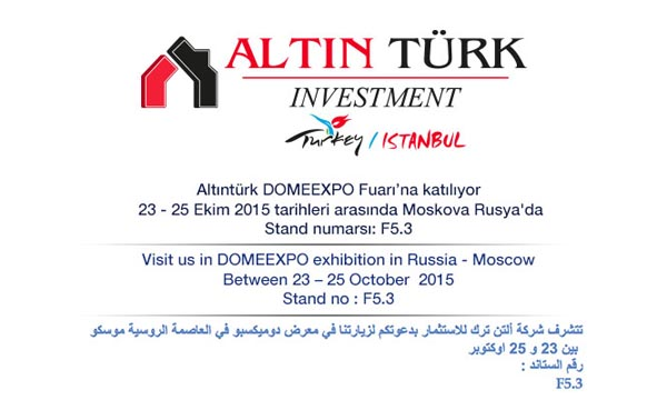 Visit us in DOMEEXPO exhibition in Russia– Moscow