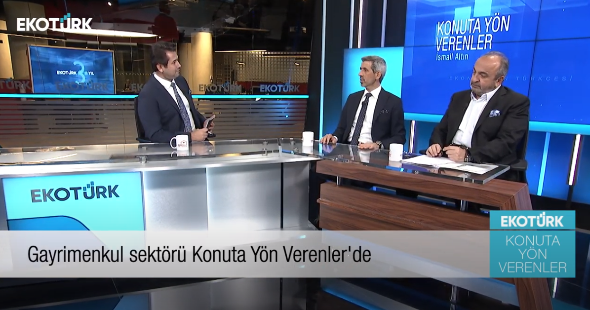 Ismail Altın and guests, spoke about developments in the real estate sector in Turkey