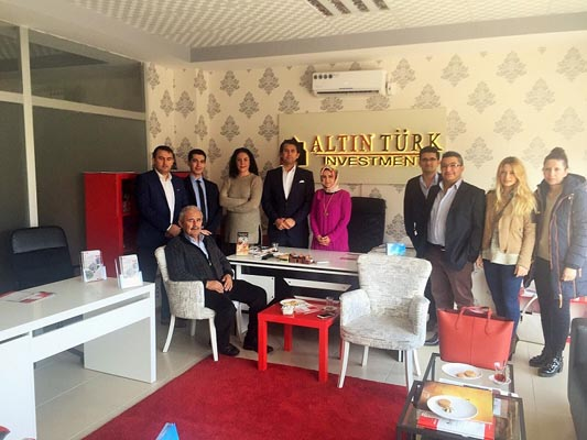 Altın Türk Investment opened New office in Bursa
