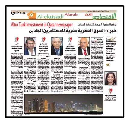 Qatar Altın Turk Real estate Exhibition 2014