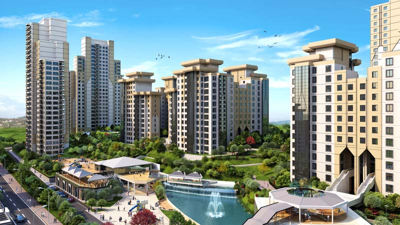 Istanbul, Bahçeşehir Government project, with 120 Months Installment  after delivery time