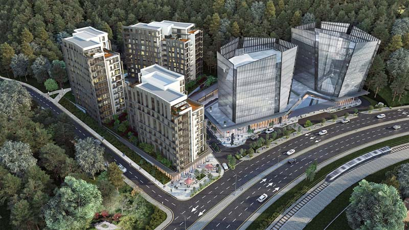 Istanbul, Ready to Move Luxury Project In The Forrest