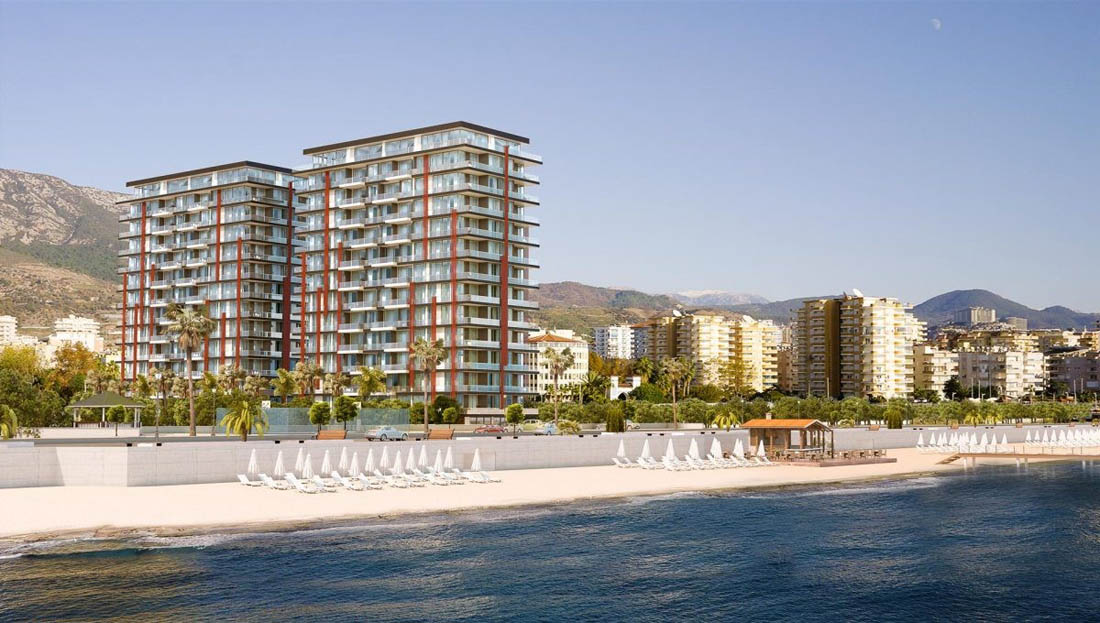 Alanya, Ready Residential Project with Sea View