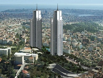 Istanbul, Şişli Residential Project, With Bosporus View, Best Choice for Investment