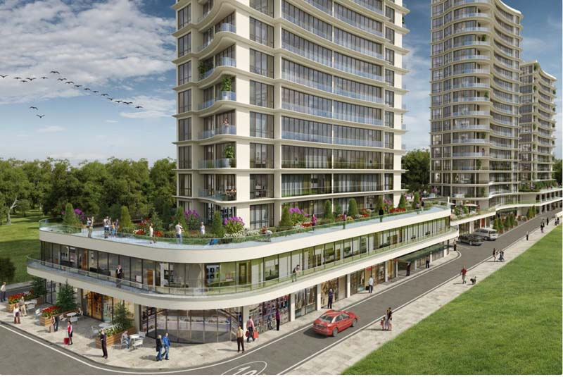 Güneşli residence and commercial project with 20% profit while delivery