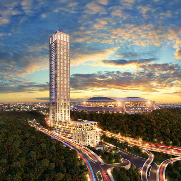 Istanbul, Maslak, Luxurious Residential Project Close to Taksim