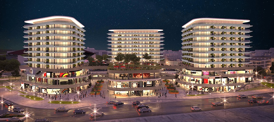 Istanbul, Merter, Ready Commercial & Residential Project Starting Price  559.399 TL