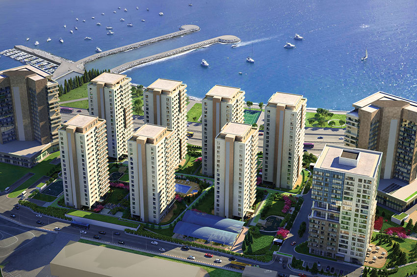Istanbul, Full Luxury Project With Wonderful Sea View