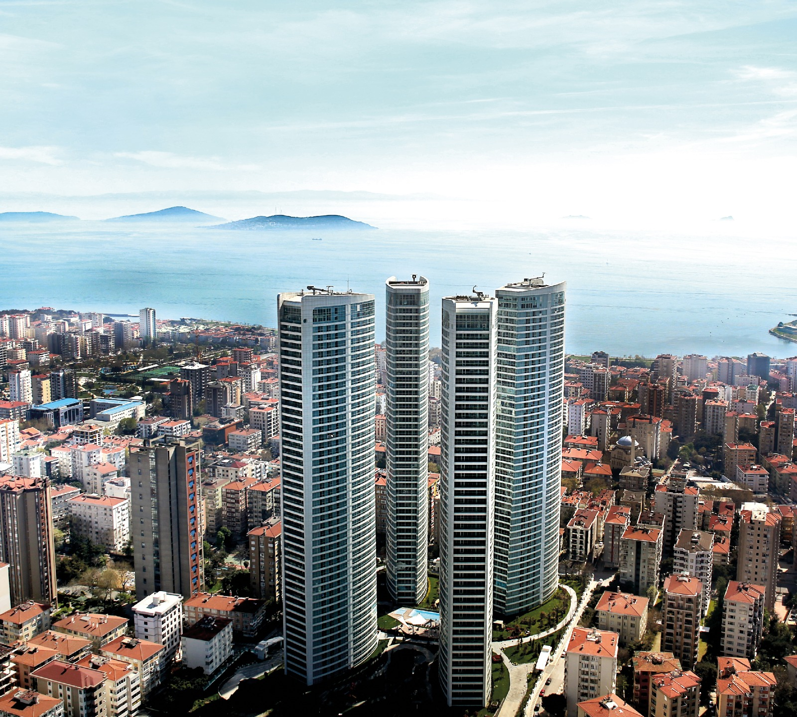 Luxury Apartments for Sale in Bagdat Street, Istanbul