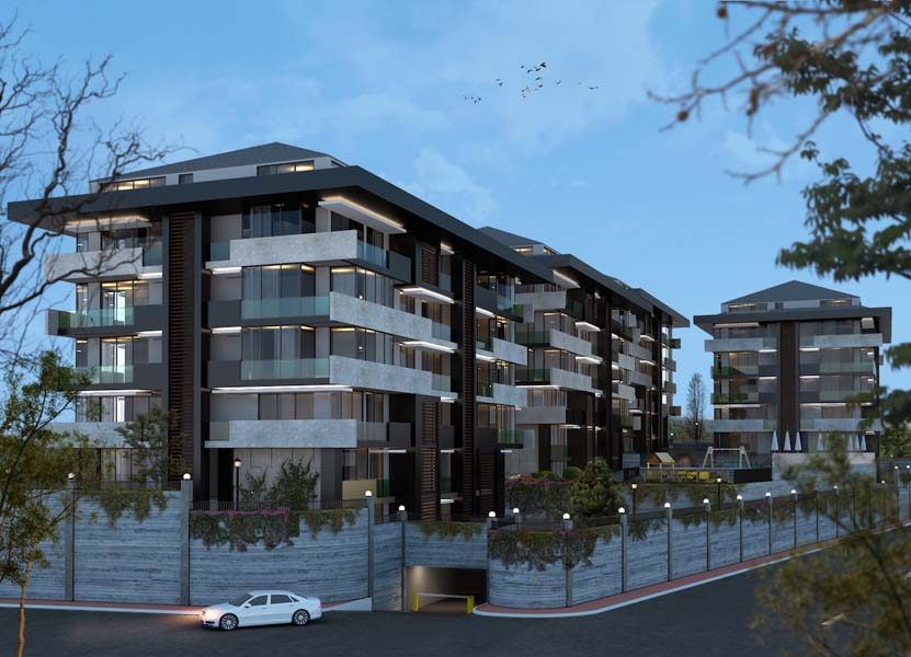 Luxury Apartments with Swimming Pool in Tarabya, Istanbul