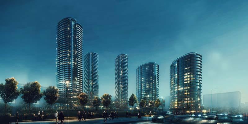 اسطنبول كارتال مشروع سكني راقي مع منظر لجزر الاميرات