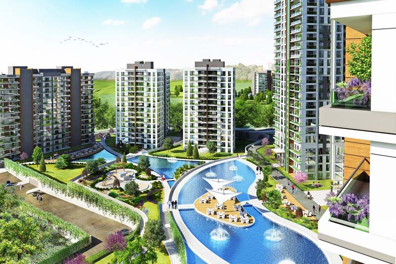 Istanbul, Başakşehir Near To Delivery Residence Project.    Starting Price  553.000 TL